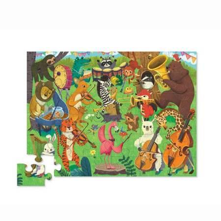Puzzle 36 el. Zwierzęca orkiestra