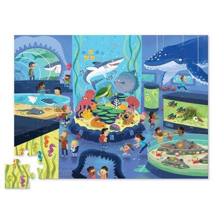 Puzzle 48 el., Dzień w muzeum - Oceanarium, Crocodile Creek 4063-3