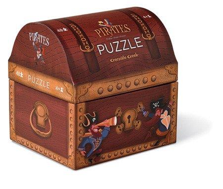 Puzzle 48 el., motyw Piraci, Crocodile Creek