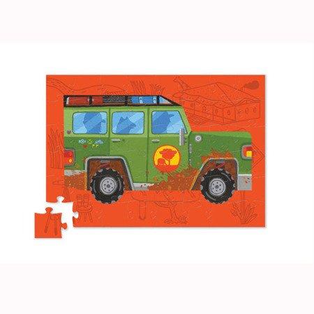 Puzzle 48el., Samochód Safari, Crocodile Creek