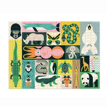 Puzzle 500 elem. Zwierzęta Giganci