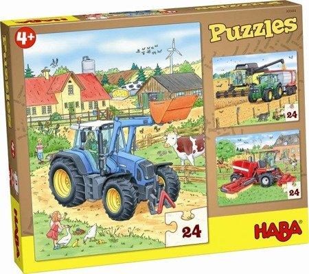 Puzzle Traktory