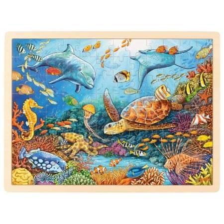 Puzzle Wielka Rafa Koralowa 96 el.