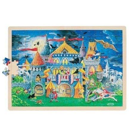 Puzzle, motyw Królewski zamek, 192 el., Goki 57949