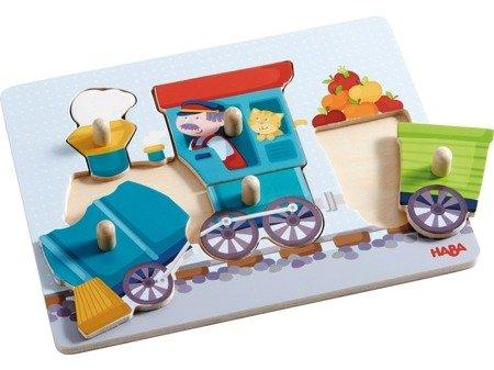 Puzzle nakładane - Pociąg