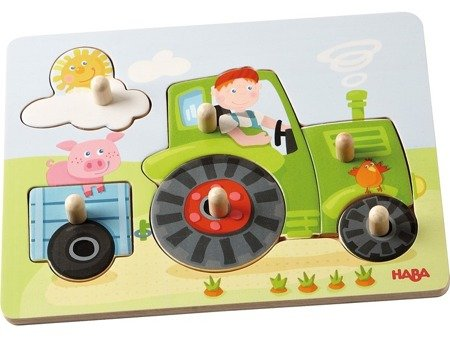 Puzzle nakładane - Traktor