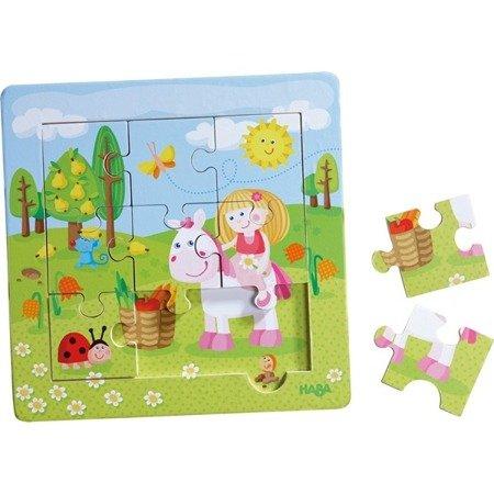 Puzzle w ramce Ogródek Wróżki