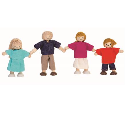 Rodzina lalek, Plan Toys  PLTO-7415