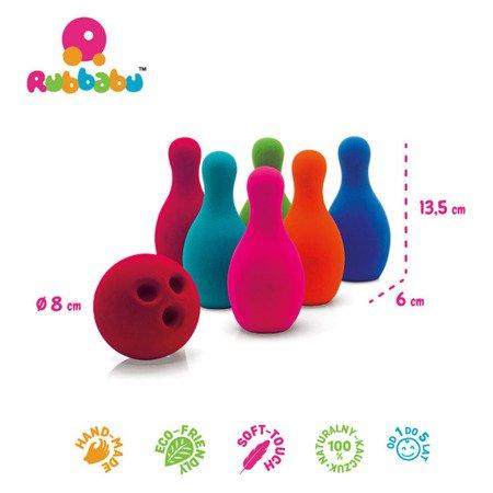 Rubbabu Zestaw do gry w kręgle sensoryczny