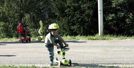 SCOOTANDRIDE Highwaykick 2w1 Jeździk i hulajnoga 1-5 lat Lime