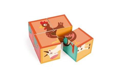 Scratch, Puzzle 4 Klocki FARMA