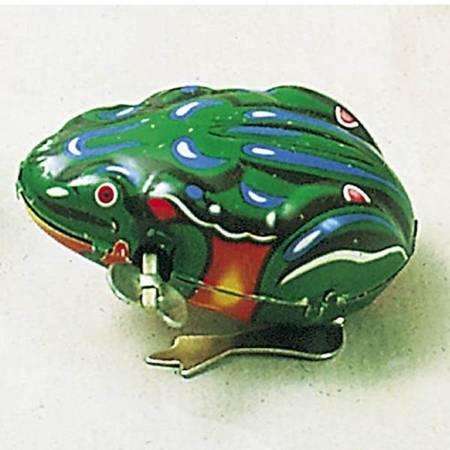 Skacząca żabka do nakręcania, Goki