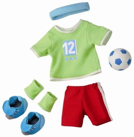 Strój piłkarski dla lalki