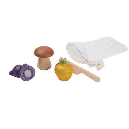 Warzywa do krojenia, 3 el., Plan Toys