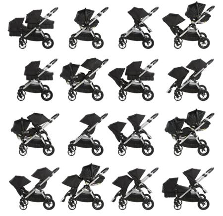 Wózek CITY SELECT CHARCOAL BJ23496 czarna rama Baby Jogger