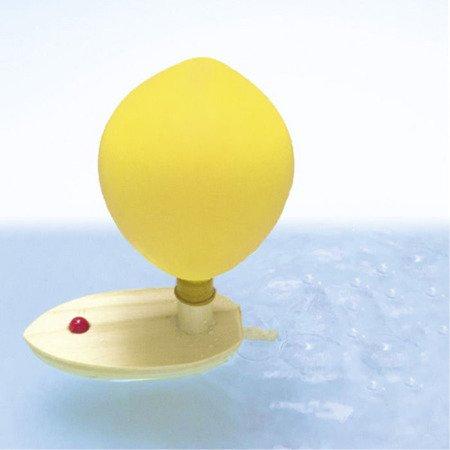 Zabawka, balonowa łódż, Goki