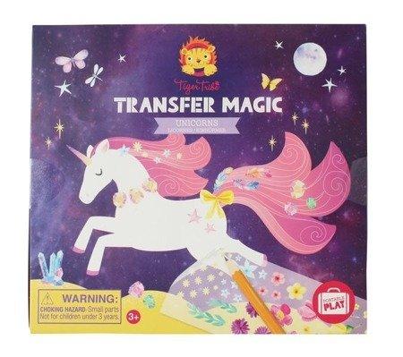Zdrapywanki Transfer Magic, Jednorożce