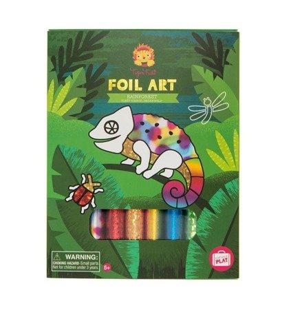 Zestaw FOIL ART: Las tropikalny